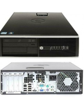 HP Compaq 8100 Elite Sff G6950 2.80GHz 4Gb 250Gb Desktop Pc Computer (rinnovato)
